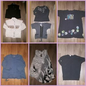 8 Women fall clothing size XL, good condition